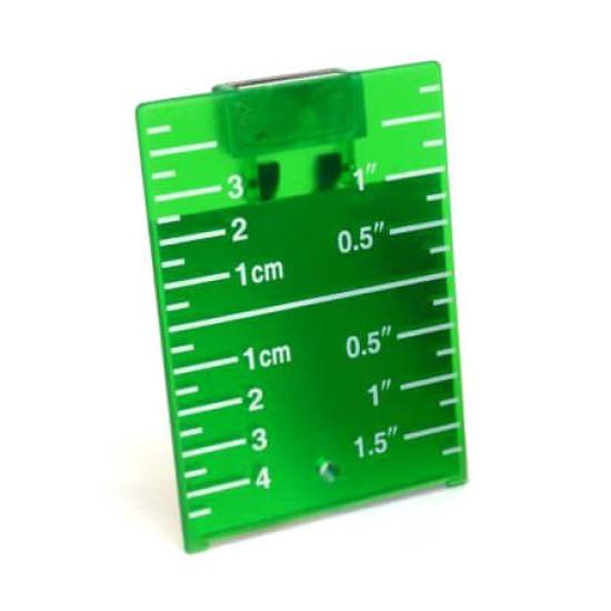 Laser-Zieltafel grün